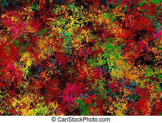 måla abstrahera