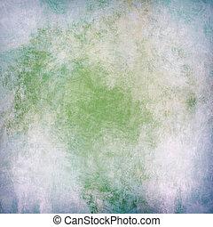 målad, årgång, färgrik, bakgrund
