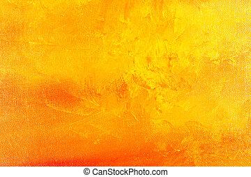 målning, bakgrund