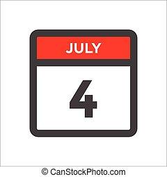 måned, kalender, sort rød, ikon, w, dag