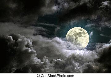månelys