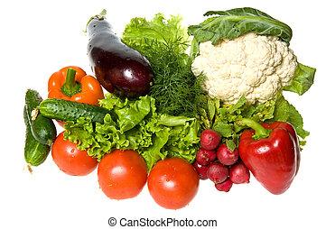 många, grönsaken