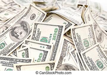 många, pengar