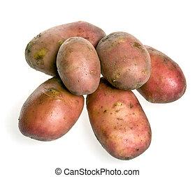 många, potatisarna