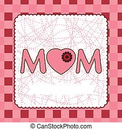 mère, eps, jour, 8, template., carte