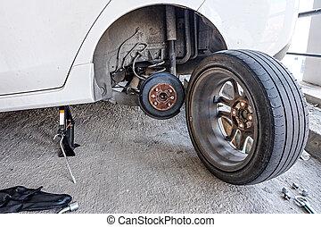 tool pneu m canicien voiture perle changer casseur. Black Bedroom Furniture Sets. Home Design Ideas