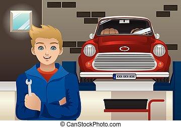 mécanicien voiture