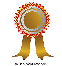 médaille, champion