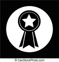 médaille, icône