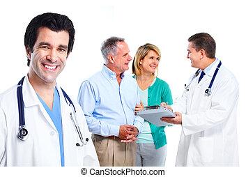 médecin de famille, et, patient.