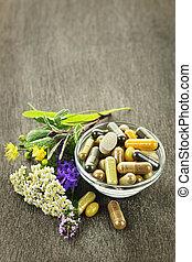médecine fines herbes, herbes