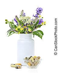 médecine fines herbes, usines
