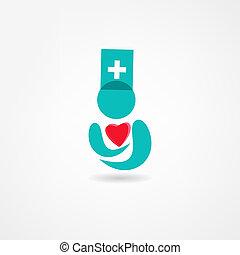 médecine, icône