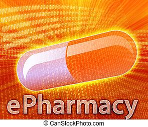 médecine, ligne