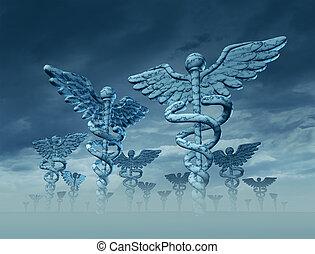 médecine, paysage