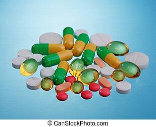 médecine, pilule