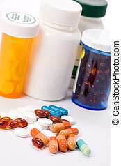 médecine, pilules