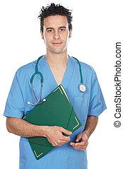 médecine, séduisant, étudiant