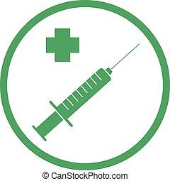 médecine, symbole, santé