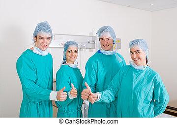 médecins, équipe