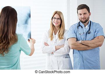 médecins, travail