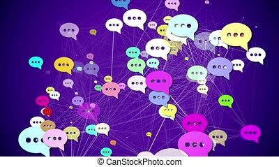 """média, concept."""", """"messages., social"""