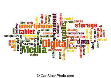 média, digitális