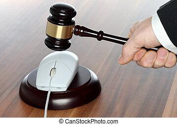 média, droit & loi, symbolique