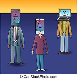 média, gazdag koncentrátum, társadalmi