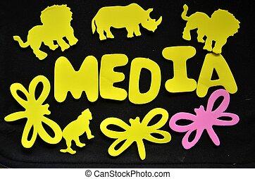 média