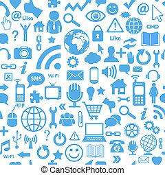 média, seamless, social