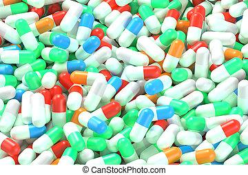 médicament, capsules