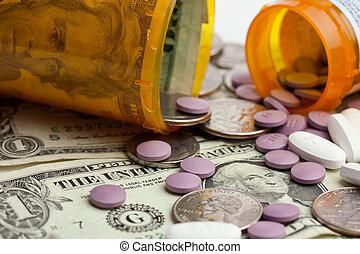 médicament, coûts