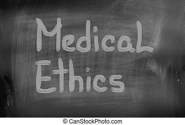 médico, ética, conceito
