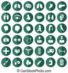 médico, ícone