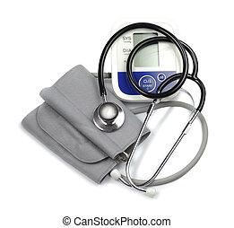 médico, cardiólogo, conjunto