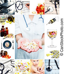 médico, colección