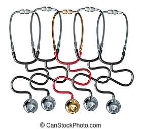 médico, comunidad