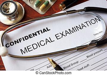 médico, concept., confidencialidade