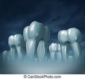 médico, cuidado dental