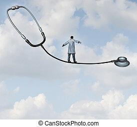 médico, decisões