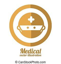 médico, desenho