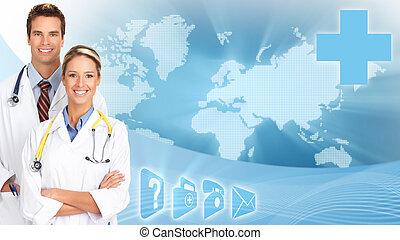 médico, doctors.