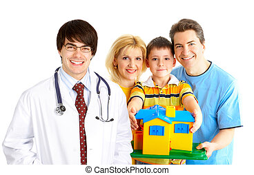 médico, doutor familiar
