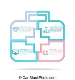 médico, infographics