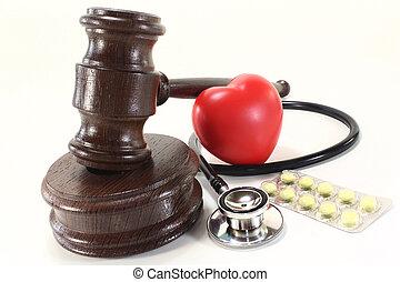 médico, lei