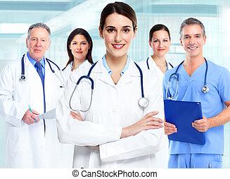 médico médico, woman.