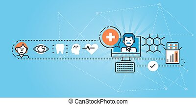 médico, online, serviços