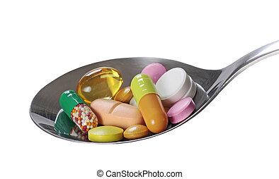 médico, píldoras