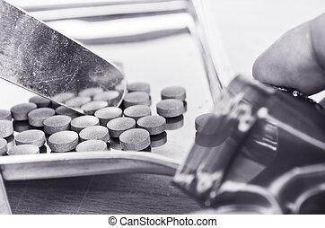 médico, pílulas